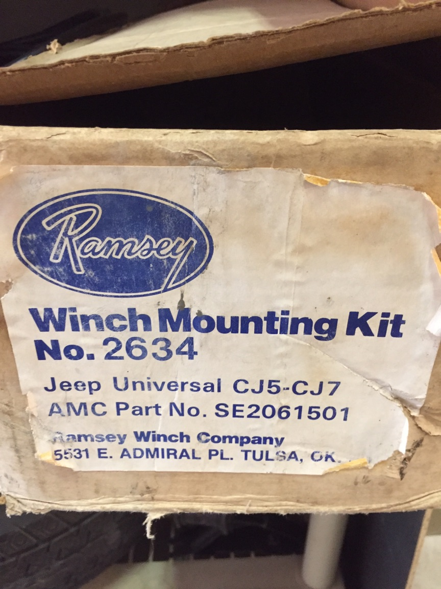 1982 Jamboree Parts Winch Warn Solenoid Wiring Diagram Ramsey Rep8000 Below Is An Ad From The 1980s For 2000 2001 Mount Shown Standard Not Lightweight