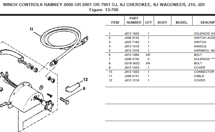 Ramsey Winch Parts 1982 jamboree parts winch ramsey rep 8000 wiring diagram at aneh.co